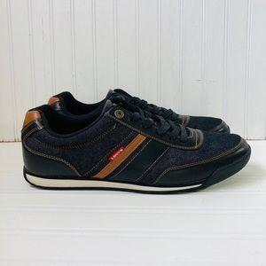 Levi's Men's Size 12 Lace-up Denim Shoe